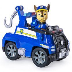 Paw Patrol Щенячий патруль гонщик Чейз на тягачі Chase&acutes Tow Truck