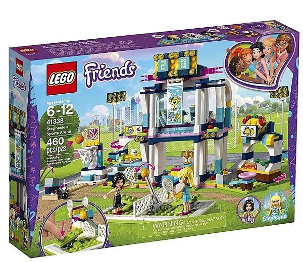 Конструктор LEGO Friends Стадион Стефани LEGO 41338 Лего стадіон для Стефан