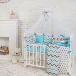 Постельные комплекты для новорожденных Беби дизайн Премиум Новинка 2017