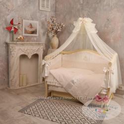 Королевский наборчик Baby chic Swarovski для кроваток софа