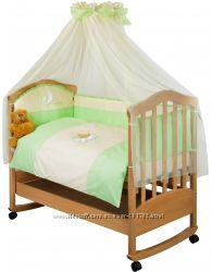 Наборчик постельного в кроватку Маленькая Соня 7 предметов по Приятной цене