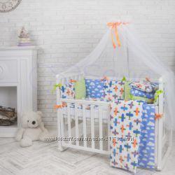 Постельное белье для новорожденных Беби дизайн. АкЦиЯ Сменка в подарок