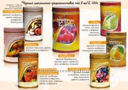 Черный среднелистовой чай с добавлением натуральных фруктов&цветов