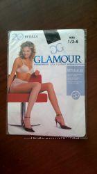 Колготы черные 20 den Glamour 12-S