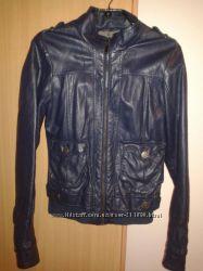 Куртка женская из кожзама