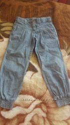 Крутые джинсовые штаны Бенетон , рост110.