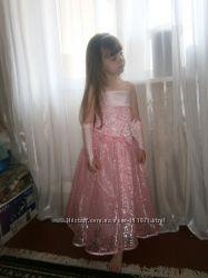 Шикарное нарядное платье принцессы