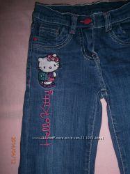 Поклонницам  HELLO KITTY , джинсы , футболки