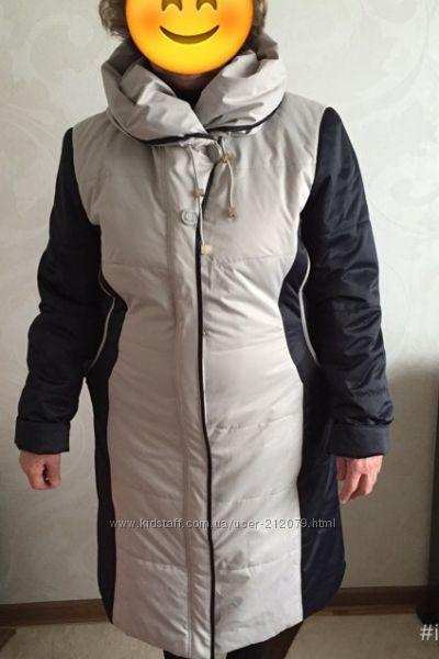Демисезонное пальто р-р 52-54