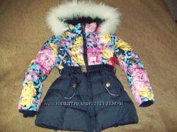 Зимняя куртка для девочки фирмы Cokotu