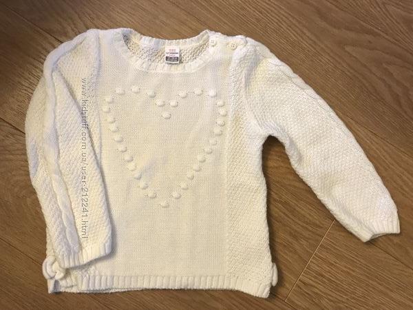 Суперовый свитерок LC Waikiki на девочку 1-2 года