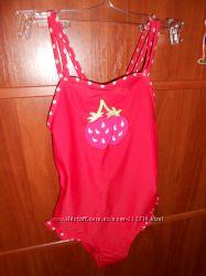 Купальник для девочки Mothercare, 7-8 лет, 128 см