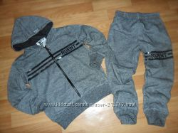 Стильные спортивные костюмы для мальчиков 116см