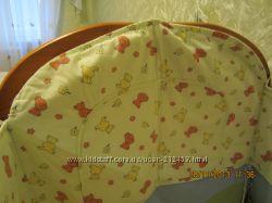 Защитные бортики на детскую кроватку