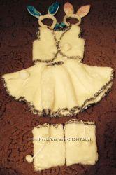 Прокат костюм Зайчика для девочки г. Ялта