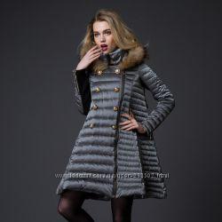 Дизайнерский женский пуховик стильно и модно