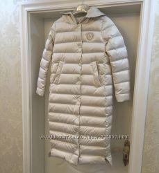 Супер стильный невесомый пуховик пальто Alice