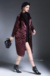 Оригинальное женское пальто