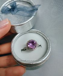 Шикарное кольцо под серебро