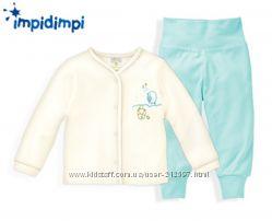 Детский хлопковый костюмчик р. 50-56 Impidimpi . Германия