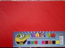Набор цветного двустороннего картона