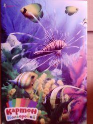 Картон цветной 7 листов