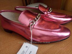 Кожаные туфли HM