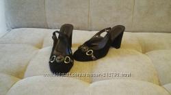 Замшевые туфли Mativi коричневого цвета в идеальном состоянии