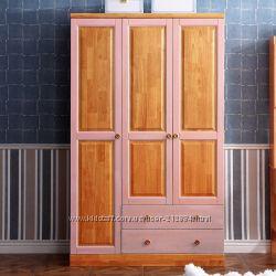 Шкаф из натурального дерева  Mobler. Серия premium-3