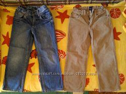Джинсы и вельветовые штаны на мальчика р. 116-122