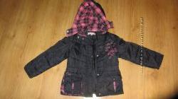 куртка весенняя для девочки  деми