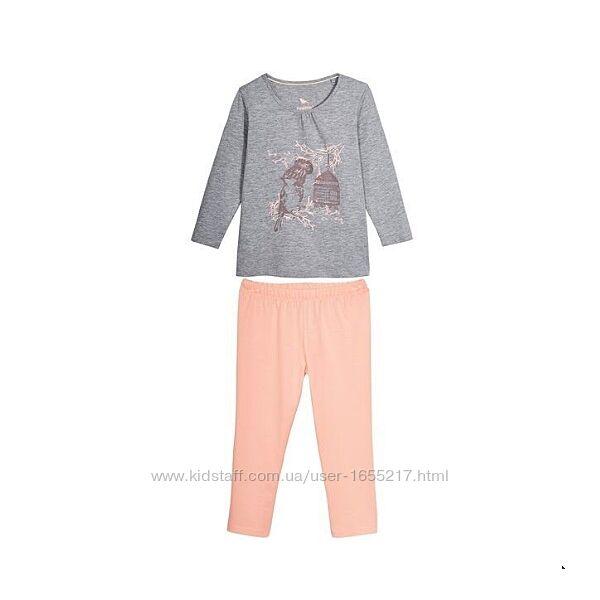 Пижамы для девочки от ТМ Lupilu