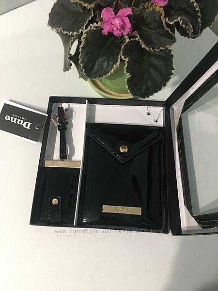 Новый подарочный набор Dune London, кошелёк и брелок