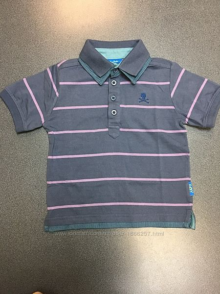 Фирменная футболка, поло Emma Bunton. 3-4 года. Хлопок