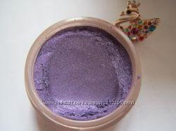 Минеральные тени Затмение. Фиолетовый оттенок средней интенсивности