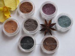 Новая коллекция минеральных теней 7 оттенков
