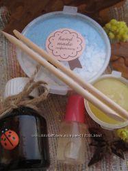 Изумительный комплект для маникюра из 5 натуральных продуктов.