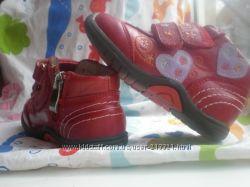 Фирменные ботиночки KISS RABBIT. р21, 13см. ДешевоУже теплеет