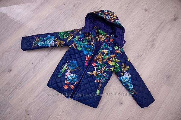 Куртка для девочки весенняя демисезонная