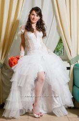 Свадебное платье р. 44