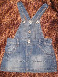 Продам сарафан джинсовый для девочки