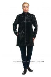 Женская куртка - ветровка большого размера