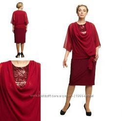 7f433997c467ed1 Платье нарядное большого размера, вечернее платье большого размера до 70 р.