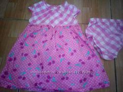 Костюм - набор Платье вишенка и трусики C&A привезено из Германии