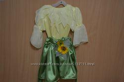 карнавальный костюм Подсолнушек для девочки на 3 года