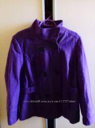 Пальто короткое шерсть 50-52р Gerorge