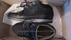 ботинки кроссовки утепленные нубук
