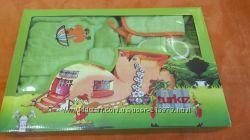 Детский подарочный банный комплект Turkiz 6-9-12мес. идеальное состояние