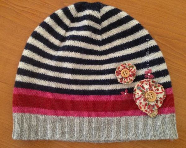 шапочка для модницы , Accessorize 3-4 годика