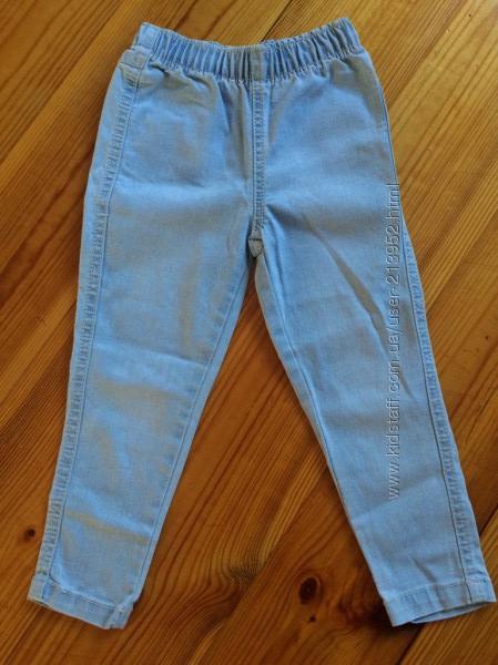 Тонкие джинсы на резинке, тм Mothercare